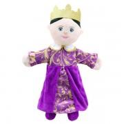 Grande marrionnette personnage Reine 45cm