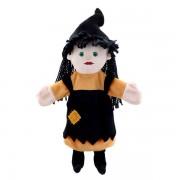 Grande marrionnette personnage  sorcière 45cm