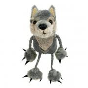 Marionnettes à doigts Loup 15cm