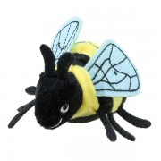Marionnette à doigt abeille 15cm