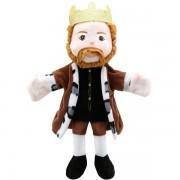 Marionnette personnage Roi 34cm