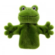 Marionnette enfant à mains Grenouille 25 cm