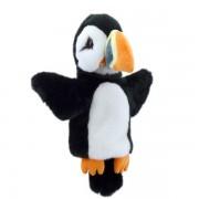 Marionnette enfants à mains Macareux 25cm