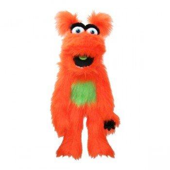 Grande Marionnette avec couineur Monstre orange