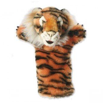 Marionnette peluche à main Tigre longue manche
