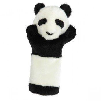 Marionnette Enfants Peluche en forme de Panda avec une longue manche