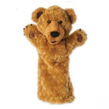 Marionnette Ours longue manche pour enfants et adultes