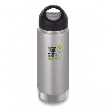 Gourde isotherme inox Klean Kanteen 0,47L large goulot