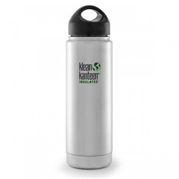 Gourde large goulot isotherme inox Klean Kanteen 0,59L