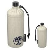 Grande gourde en verre isotherme écolo bio, 0.75 litre