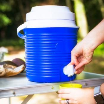 Bidon isotherme grande capacité 5,8 litres avec robinet