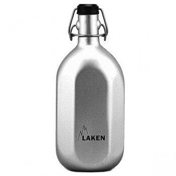 Gourde bouteille octogonale aluminium 1 litre