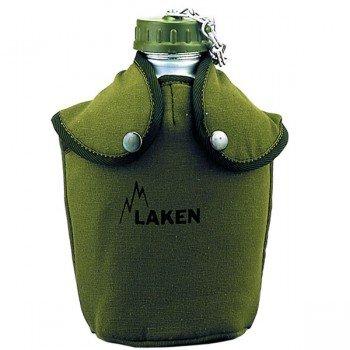 Gourde militaire en aluminium type US Jungle 1.3 litre avec housse
