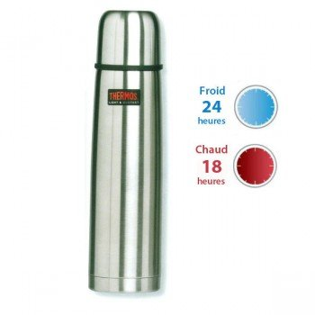 Thermos, bouteille isotherme inox Light&Compact, 0,75L