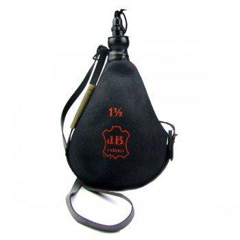 Gourde basque coupe noire 1.5 litres entonnoir