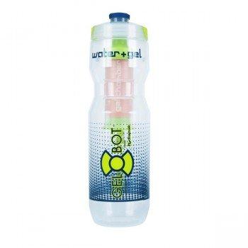 Bidon gourde GelBot pour eau et gel énergétique, 70cl