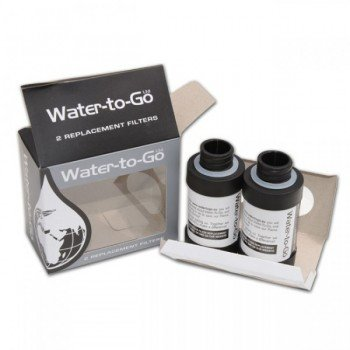 Recharge Pack 2 Filtres pour gourde Water-to-Go 0,75l