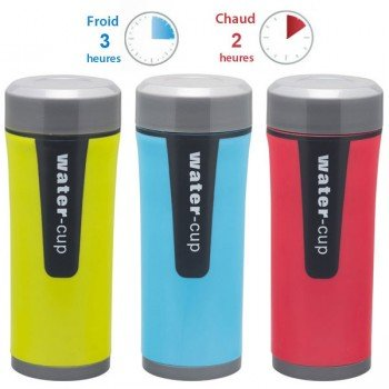 Mug isotherme inox colorée, 45cl
