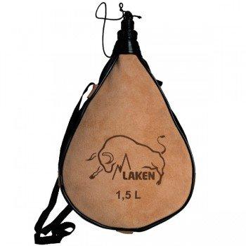 Gourde basque en peau souple Zahato 1.5L