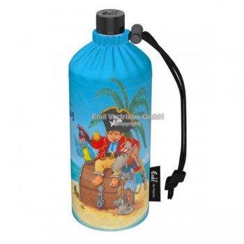 Gourde enfant en verre isotherme Pirates 0.4 litre