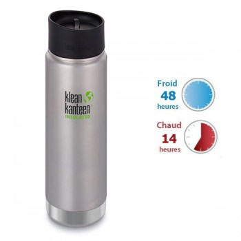 Mug isotherme inox Klean Kanteen 0,59L thé café eau