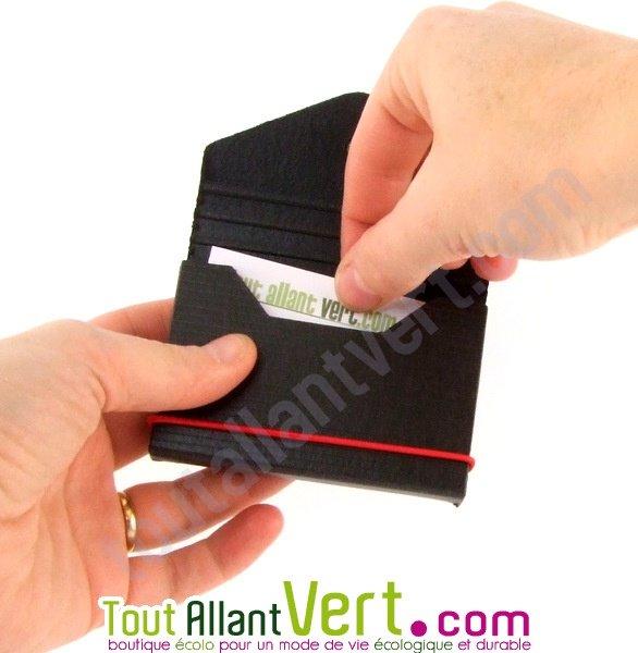 nouvelles promotions Découvrez grande vente de liquidation Etui porte carte de visite, carton recyclé achat vente écologique - Acheter  sur ToutAllantVert.com