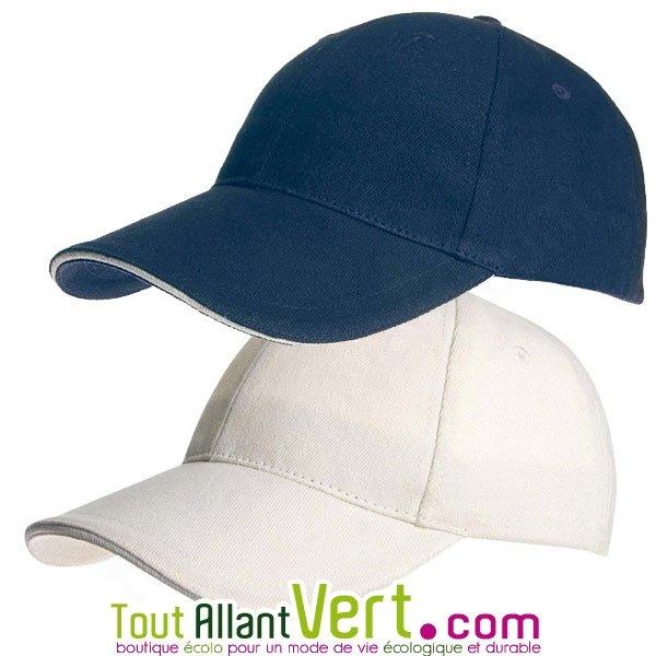 les mieux notés plusieurs couleurs coût modéré Casquette coton biologique réglable, style Baseball achat vente écologique  - Acheter sur ToutAllantVert.com