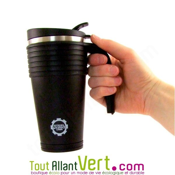 By Isotherme 5 Steelworks Noir Sigg Gobelet Achat Litre Vente 0 ARL5q3j4
