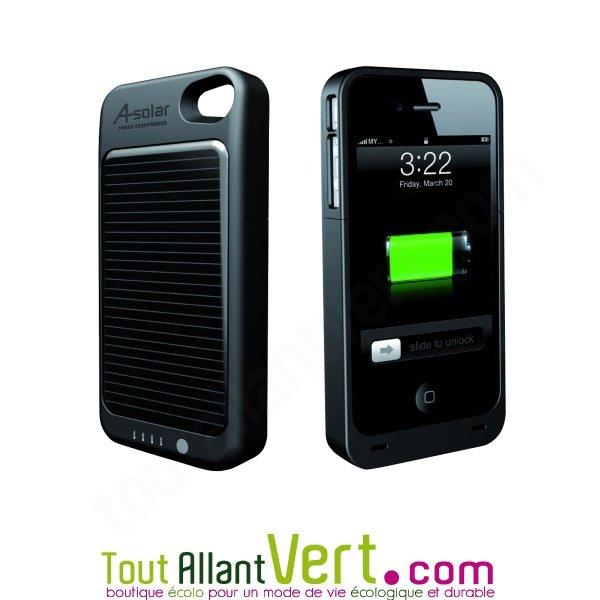 Un chargeur solaire pour l'iPhone 4