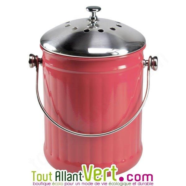 Poubelle A Compost Anti Odeur Pour Cuisine 4 Litres Achat Vente