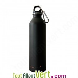 Gourde inox Noir Mat 0.6 litre Green Dutch