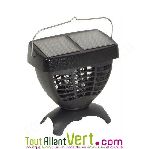 lampe anti moustique solaire attire les moustiques avec. Black Bedroom Furniture Sets. Home Design Ideas