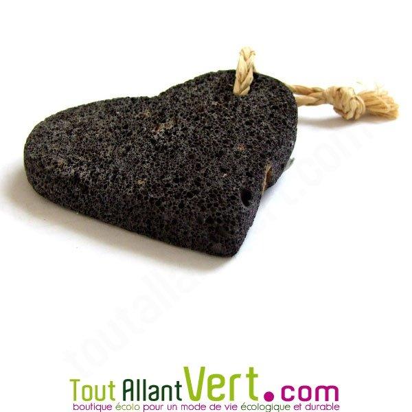 pierre ponce volcanique coeur avec ficelle achat vente cologique acheter sur. Black Bedroom Furniture Sets. Home Design Ideas