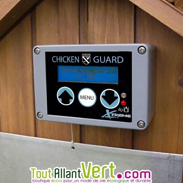 syst me ouverture et fermeture porte automatique poulailler chickenguard extreme achat vente. Black Bedroom Furniture Sets. Home Design Ideas