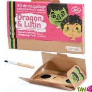 Kit maquillage bio enfant 3 couleurs, Dragon et Lutin