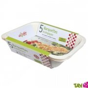 5 Barquettes écologiques compostables 3-4 portions, Ah table!