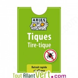 Tire-tique, retrait facile et efficace, Aries