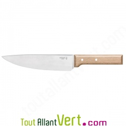 Couteau chef Opinel 20 cm acier inoxydable