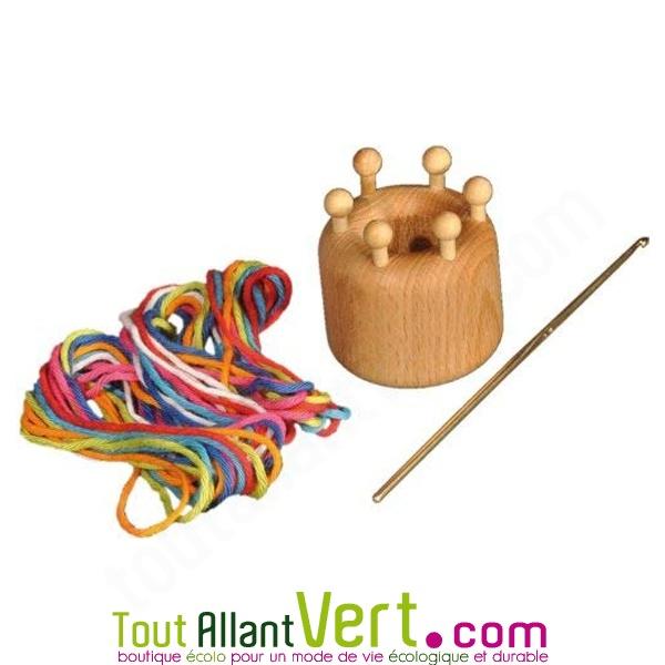 Tricotin Enfant 8 cm en Bois REF tricotin