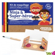 Kit maquillage bio enfant 3 couleurs, Ninja & Super-héros