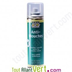 Spray anti-mouches, répulsif naturelle 200ml